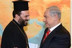 PM Netanyahu meets Gabriel Nadaf, Aug. 2013 Reuters