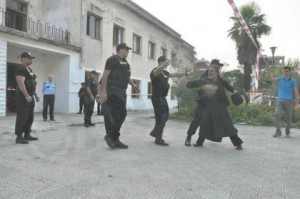 There was plenty of tension and commotion when a Greek Orthodox Church in Permet, Albania came under attack and as police kept away priests and the faithful from trying to defend it. Albania disregarded a complaint from Greece's government.