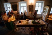 Hundreds attend slain priest's funeral in Pskov