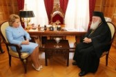 Chairperson of the Council of Federation meets with Primate of the Greek Orthodox Church