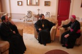 Metropolitan Hilarion meets with Catholic Archbishop Vincent Nichols of Westminster