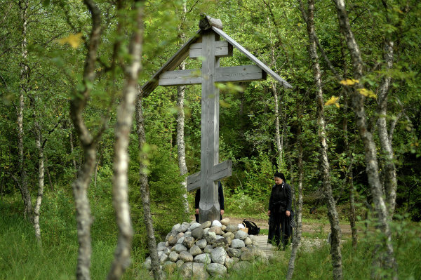 In 1967, all the buildings of the priory became the property of the Solovetsky Museum and Reserve. On July 3, 1994, a cross was erected at the foot of the Golgotha (Calvary) Hill in memory of all martyred Orthodox Christian hierarchs.