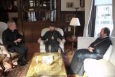 Metropolitan Hilarion meets with the Apostolic Nuncio to Great Britain Archbishop Antonio Mennini
