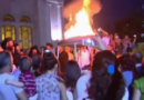 Maaloula refugees celebrate the Exaltation of the Cross, pray for their martyrs