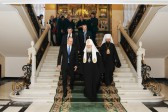 His Holiness Patriarch Kirill meets with His Highness Albert II, Prince of Monaco