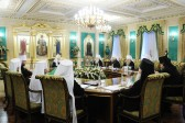 Holy Synod meets for regular session under chairmanship of His Holiness Patriarch Kirill