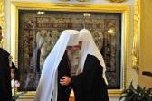 Metropolitan Tikhon celebrates namesday