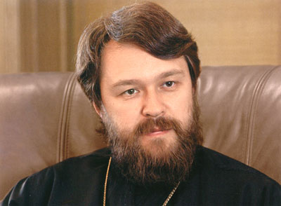 Metropolitan Hilarion of Volokolamsk Gives Interview to Romfea