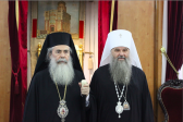 Metropolitan Varsonofy of Saransk and Mordovia celebrates Divine Liturgy in the Church of the Holy Sepulchre