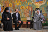 Georgian Patriarch opens in Tbilisi exhibition of Russian icons