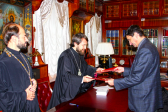 Metropolitan Hilarion of Volokolamsk meets with Rector of Russian Christian Academy for Humanities