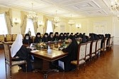 Patriarch Kirill meets with students of advance course for newly-installed bishops
