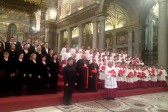 Moscow Synodal Choir performs Russian church music in Rome