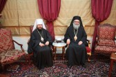 Metropolitan Hilarion of Volokolamsk meets with His Beatitude Patriarch John X of Antioch
