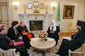 Archbishop Scola in Moscow for Orthodox Church meetings