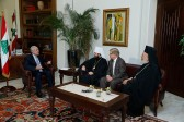 Metropolitan Hilarion meets with the President of Lebanon