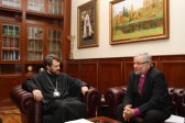 DECR chairman meets with Bishop Aarre Kuukauppi of the Evangelical Lutheran Church of Ingria