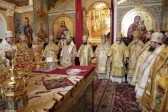 Celebration of 78th birthday of Metropolitan Vladimir are held in Kiev