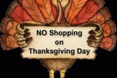 No Shopping on Thanksgiving