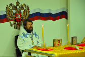 Metropolitan Hilarion celebrates the Divine Liturgy in the Russian general consulate in Busan