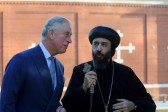 Prince Charles visits the Coptic Orthodox Church Centre in Stevenage