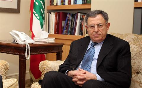 File photo of former Prime Minister Fouad Siniora. (The Daily Star/Mohammed Azakir)