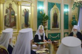 The Holy Synod concludes its last session in 2013