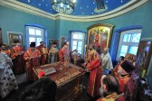Patronal feast celebrated at OCA Representation Church in Moscow