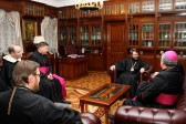 Metropolitan Hilarion meets with Cardinal Kurt Koch