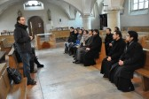 Participants in the Youth Theological School project visit Munster