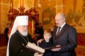 Lukashenko visits Church of All Saints in Minsk on Christmas