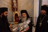 Russian Orthodox Mission extends Christmas greetings to Patriarch of Jerusalem