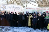 Bishop John of the Diocese of Worcester and New England Participates in March for Life