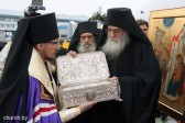People knelt down to welcome the Gifts of the Magi in Minsk