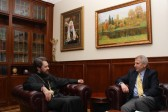 Metropolitan Hilarion of Volokolamsk meets with the head of EU Delegation to Russia