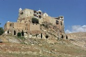 Pro-government forces find a haven at Syrian town's Christian monastery