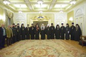 His Holiness Patriarch Kirill meets with Primate of the Orthodox Church of Antioch