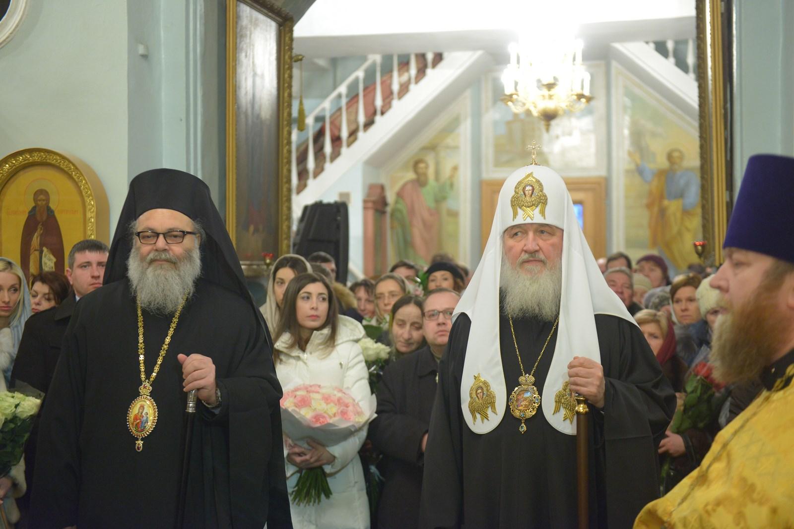 Patriarch Kirill visited the Pokrovsky new building 37