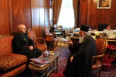 Archbishop of Canterbury meets Ecumenical Patriarch Bartholomew