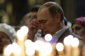 Vladimir Putin congratulates Russians on Christmas