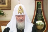 Nativity Interview with Patriarch Kirill: On Conservatism and Liberalism