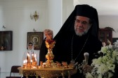 Archbishop of Johannesburg and Pretoria celebrates at the Russian Church of St. Sergius of Radonezh in South Africa