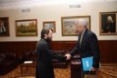 Metropolitan Hilarion meets with Egypt's Ambassador to Russia