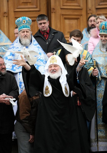 Patriarchal ministry on the Feast of the Annunciation of the Most Holy Theotokos.