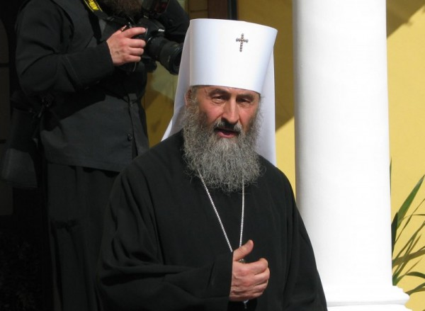 Metropolitan Hilarion of Eastern America and New York sends greetings to Metropolitan Onouphry of Kiev and All Ukraine on the 25th anniversary of his hierarchal service