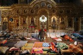 PHOTOS: Dramatic photos: Ukraine's priests take an active role in protests