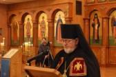 Bishop-Elect David addresses bishops, clergy and faithful at Vespers