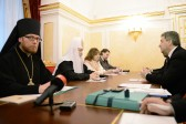 His Holiness Patriarch Kirill meets with President of Macedonia Mr. Gjorge Ivanov