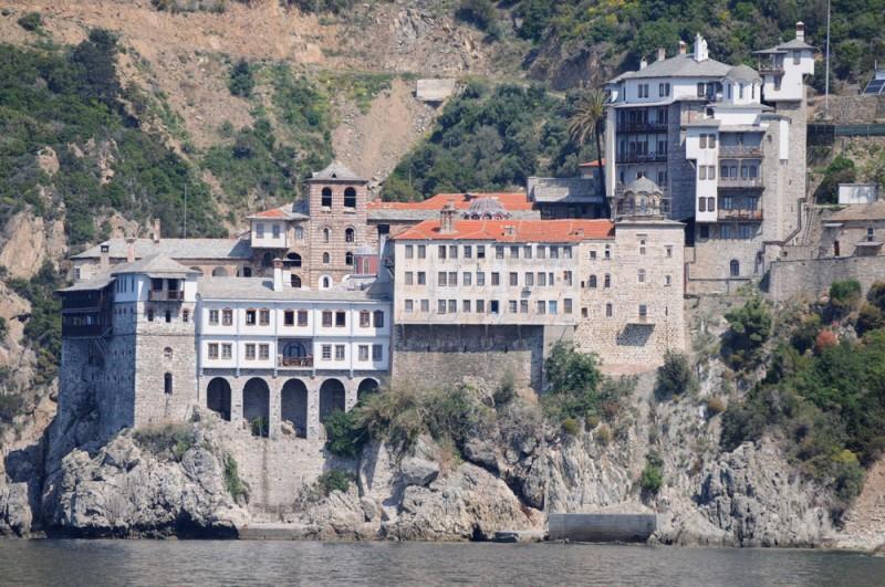 Grigoriou Monastery on Mt. Athos