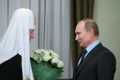 Putin congratulates Patriarch Kirill on 5th anniversary of his enthronement